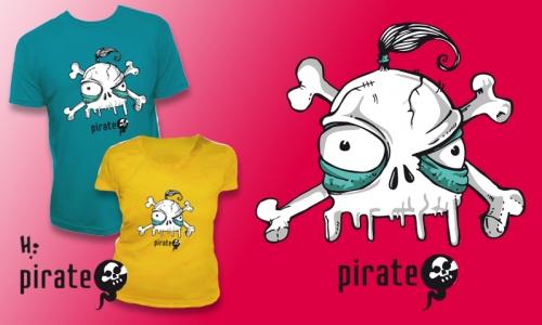 Detail návrhu Pirate