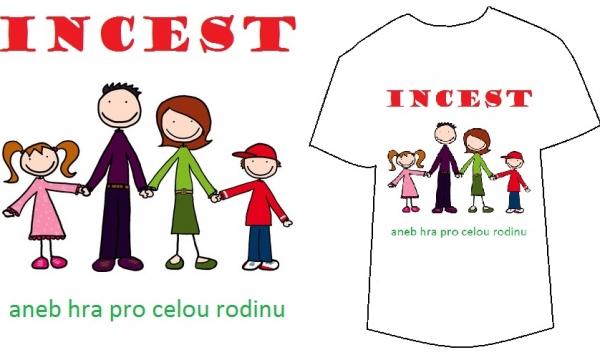 Detail návrhu Incest, aneb hra pro celou rodinu.