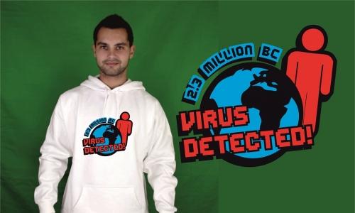 Detail návrhu Earth virus