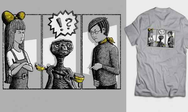 Detail návrhu E.T. volat domů