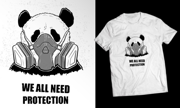Detail návrhu WE ALL NEED PROTECTION