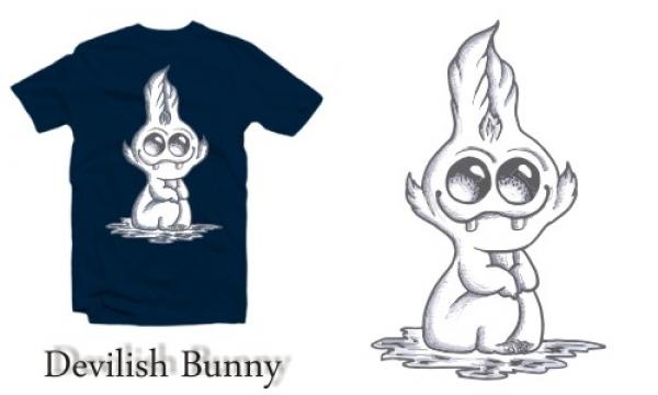 Detail návrhu Devilish Bunny