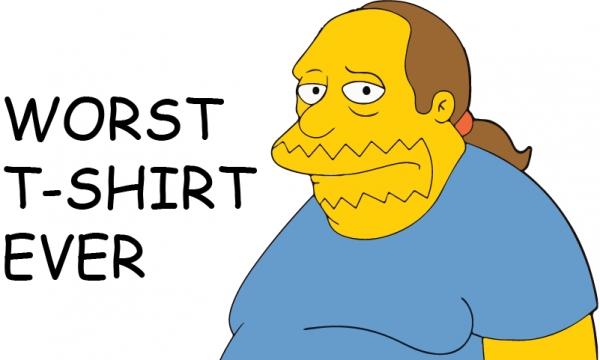 Detail návrhu Worst t-shirt ever