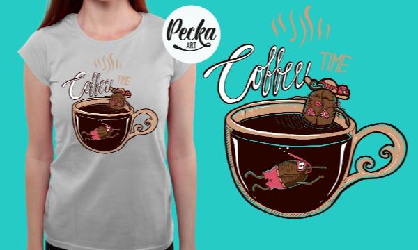 Detail návrhu Coffee TIME :)