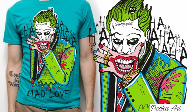 Detail návrhu Joker / MAD LOVE