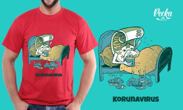 Detail návrhu Korunavirus