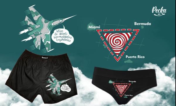 Detail návrhu letím do oblasti bermudského trojúhelníku