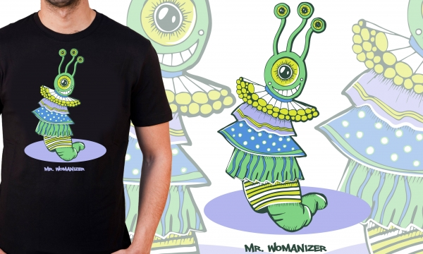 Detail návrhu Mr. Womanizer