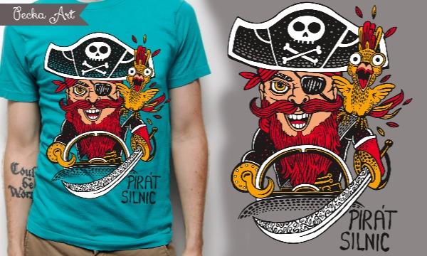 Detail návrhu Pirát Silnic