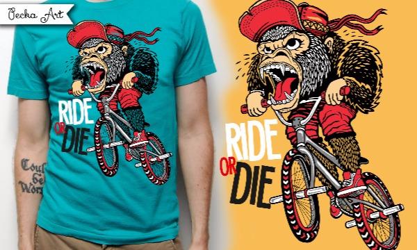 Detail návrhu RIDE OR DIE