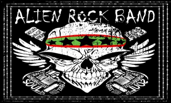 Detail návrhu Alien Rock Band