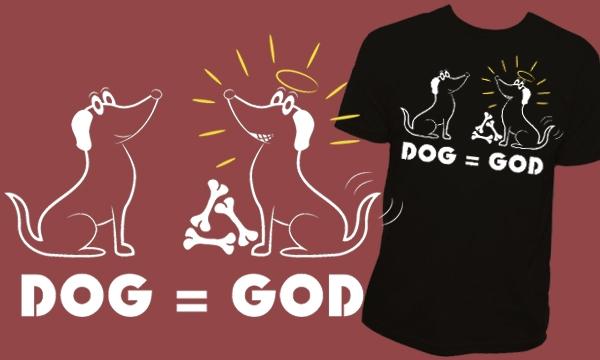 Detail návrhu Dog = God