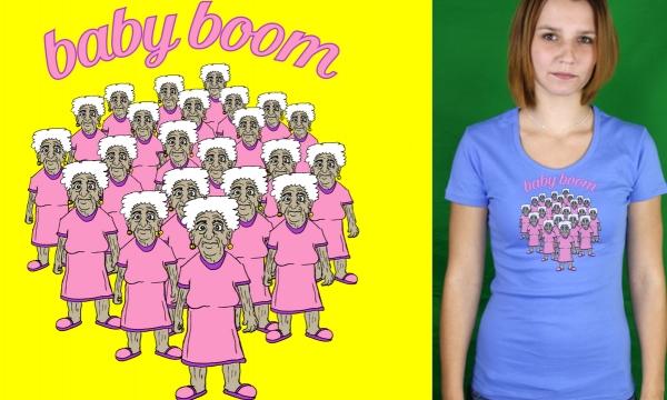 Detail návrhu Baby Boom