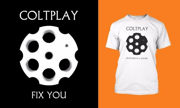 Detail návrhu Coldplay?