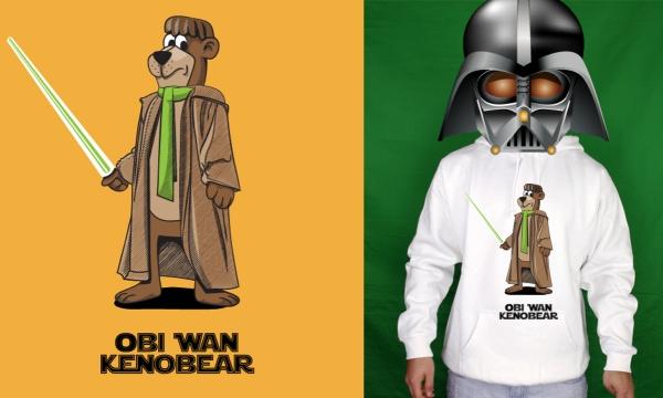 Detail návrhu Jedi Bear