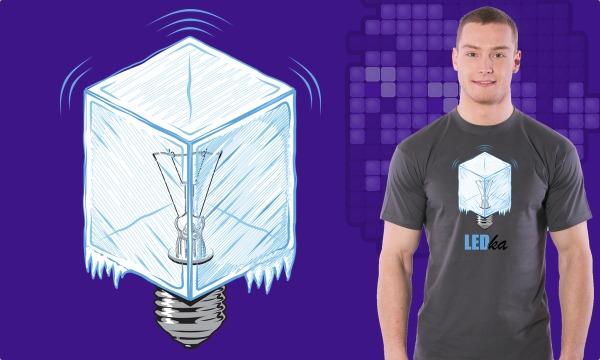 Detail návrhu LEDka