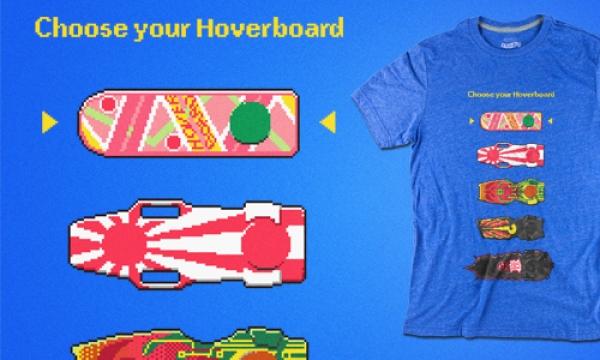 Detail návrhu Choose Your Hoverboard