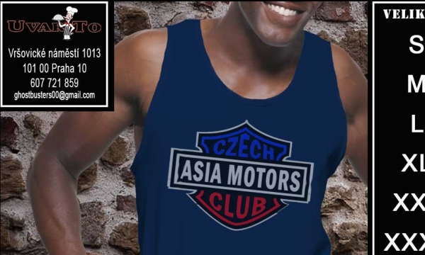 Detail návrhu Asia Motor club