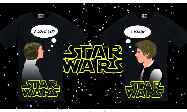 Detail návrhu Star Wars pro páry