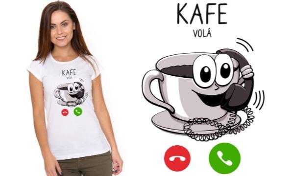 Detail návrhu Kafe volá