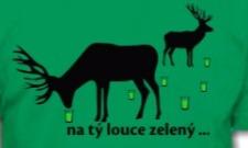 Na tý louce zelený...