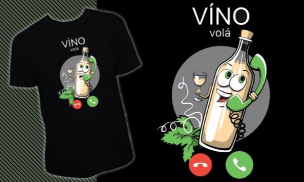 Detail návrhu Víno volá